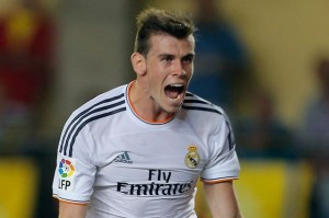Bale scored twice for Real last night