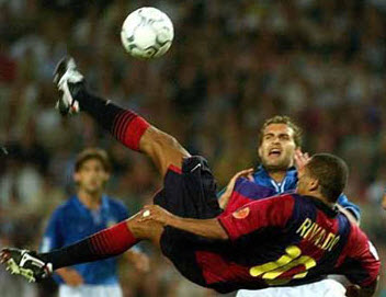 perhaps Rivaldo's best goal of all time