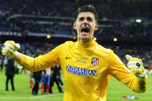 Courtois has continued to impress on-loan at Atletico Madrid