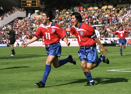 The deadly duo, Salas and Zamorano