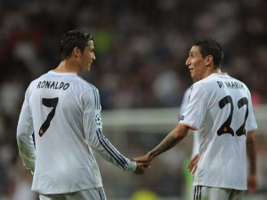 Ronaldo and Di Maria scored two each last night