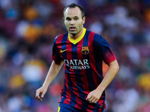 Iniesta new contract