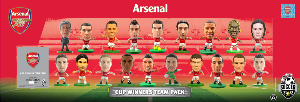 Arsenal FA CUP team pack
