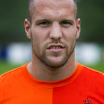 Netherland's Ron Vlaar  stands during a